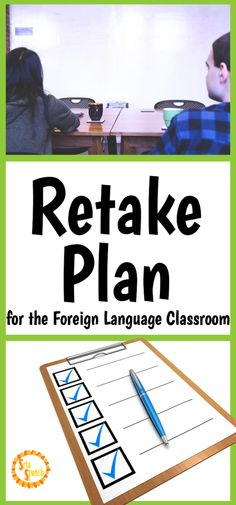 Are you looking for different ways to assess your students? Are your students needing chances to retake or redo assessments? Check out this retake plan to help your students get organized!