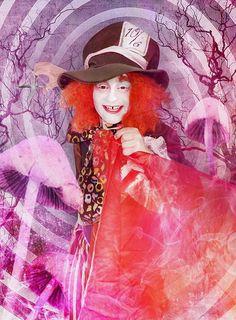 Verrückter Hutmacher / Mad hatter Make-up Tutorial   #madhatter #alice #wonderland #alice #wunderland #verrückterhutmacher #aliceimwunderland #aliceinwonderland #makeup #mua #sfx #schminktipp #makeuptutorial #tutorial #maskwold