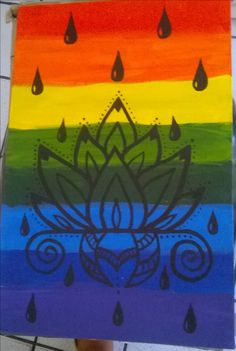Flor de Lotus orgullo gay <3 www.sabrinablasco.com
