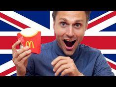 Americans Try British McDonald's - YouTube