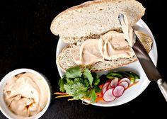 Sriracha Mayo Mix Japanese or regular mayonnaise with sriracha and lime juice. Spread mixture on sandwiches like Cuban or Banh Mi