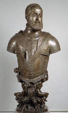 León LEONI y Pompeo LEONI: El Emperador Carlos V. Museo del Prado.