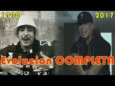 Daddy Yankee Evolución Musical [1990/2017] Desde Bailar Reggaeton hasta ...