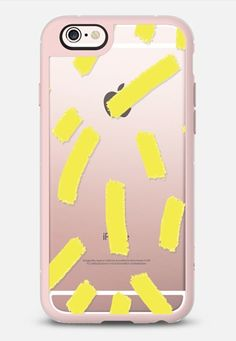 Chartreuse Strokes - Brightly Spring iPhone 6s case by Allyson Johnson   Casetify