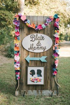 Delightfully Colorful Backyard Wedding in Louisiana