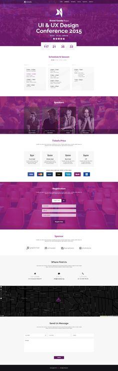 EventCastle website template