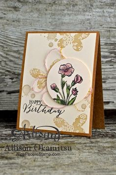 nice people STAMP!: Butterfly Basics Birthday Card