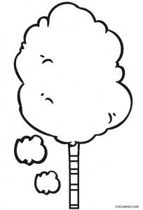 37++ Cotton candy clipart outline info