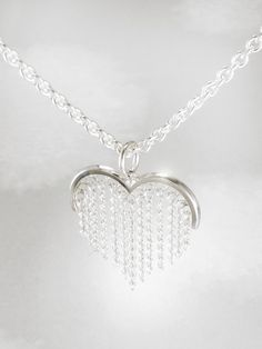 Sterling Silver T Necklace Info: 3681800152 Mens Silver Necklace, Long Chain Necklace, Sterling Silver Necklaces, Silver Earrings, Silver Ring, Heart Jewelry, Jewelry Gifts, Jewelry Ideas, Ring Boy