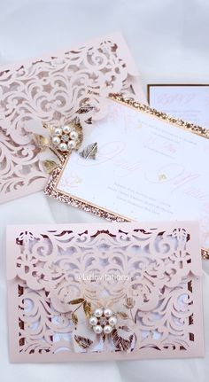 𝓙𝓮𝓷𝓵𝔂 𝓜𝓪𝓻𝓲𝓮'𝓼 Sweet 15 – Quinceanera 2020 Sweet 15 Invitations, Diy Birthday Invitations, Quince Invitations, Pocket Wedding Invitations, Quinceanera Invitations, Butterfly Invitations, Lace Invitations, Cinderella Quinceanera Themes, Sweet 15 Quinceanera