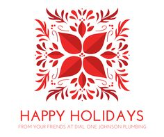 Hy Holidays From Dial One Johnson Plumbing Frugal Christmas Gift Guide