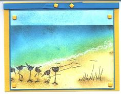 Zindorf Style Seashore by Tater - Cards and Paper Crafts at Splitcoaststampers