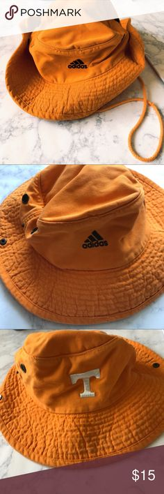 Adidas X Texas Hat Perfect game day Hat by Texas and adidas! Great orange color. No draw string clasp but you can do it yourself. Let me know if you have any questions adidas Accessories Hats