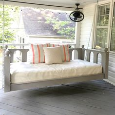 a creative day: Our porch bed swing is done and for sale!
