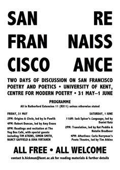 San Francisco Renaissance 4667492eac638d4cf224cd70feade510