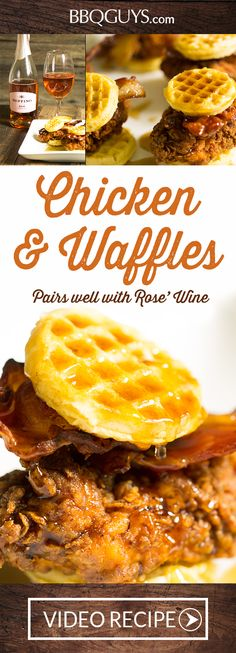89 Best Chicken And Waffles Images Chicken Chef Recipes Appetizers