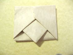 Origami envelope instructions. Make your letter into its own envelope in 10 easy steps!
