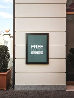 Free 60x40cm Poster Mock-Up on Behance
