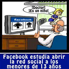 Facebook para menores