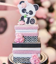 Birthday Decorations First Cute Ideas Ideas For 2019 Birthday Wishes Boy, Panda Birthday Cake, Birthday Presents For Dad, Coworker Birthday Gifts, Baby Birthday Cakes, Baby Girl First Birthday, Boy Birthday Parties, Panda Themed Party, Panda Party