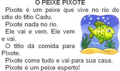 Texto O peixe Pixote