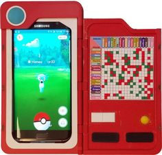 Pokemon Go drains your phone battery super fast... so why not recharge it in style? This Pokecharger case has a 2500 mAh capacity, which will approximately double the battery life of most smartphones. Pokechargers are 3D printed out of ABS plastic, the same material LEGO bricks are made from. The front flap features small magnets to keep it closed when not in use. The case also includes a vinyl decal combat advantage chart in the front flap, which will come in handy for gym battles. The back…