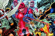 X-Men : Days Of Future Past Wrap Cover Cover: Wolverine Marvel Comics Plastic Sign - 41 x 30 cm Wolverine Metal, Wolverine Poster, Wolverine Art, X Men, Marvel Comics Art, Marvel X, John Byrne, Days Of Future Past, The Uncanny