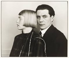 August Sander The Architect Hans Heinz Luttgen and his Wife Dora 1926