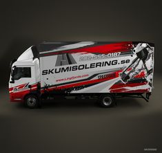 box truck wrap for maintenance contractor