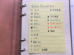 こんちは、のえ(@noebox)です。前回のジブン手帳の話に続いて、今日はシステム手帳について少々。今回のテーマはタイトルのとおり「ラクするためのバレットジャーナル」です。 Bullet Journal Quotes, Journal Fonts, Bullet Journal School, Journal Pages, Bujo Key, Note Taking Tips, Diary Planner, Journal Design, Stationery
