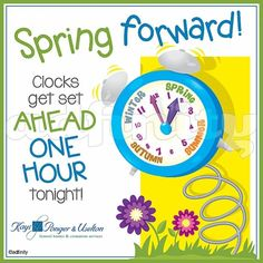 Spring Forward Fall Back, Spring Ahead, Clocks Forward, March Book, Clock Spring, Season Quotes, Spring Quotes, Daylight Savings Time, Spring Images