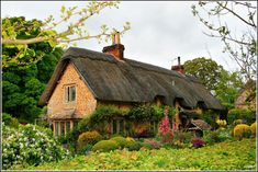 English Cottage, Wiltshire  How cool would it be to live here?