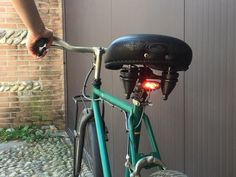 Hack a cheap LED light into a useful brake light for your bike!