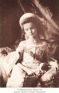Her Imperial Highness Grand Duchess Tatiana Nikolaevna Romanova of Russia Tatiana Romanov, Anastasia Romanov, Old Pictures, Old Photos, Vintage Photos, Romanov Sisters, Familia Romanov, Grand Duchess Olga, Royal Families