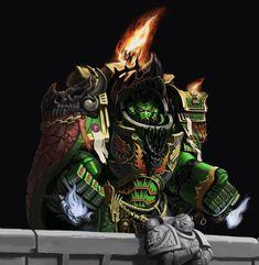 Warhammer 40k Salamanders, Warhammer 40k Art, Starcraft, Bioshock, Space Marine, Armored Vehicles, War Machine, Fantasy Artwork, Art Reference