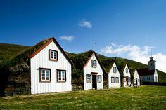 Laufas Folk Museum turf houses - Iceland - Akureryi excursion