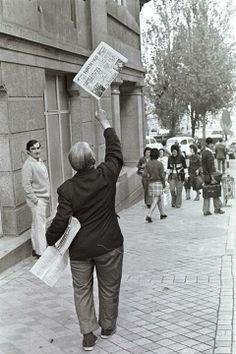 Foto de Castro, por la calle Reconquista en 1971.