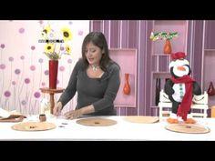 Santa Calendario de Adviento - Yasna Pino - Casa Puchinni - YouTube U Tube, Dyi, Diy And Crafts, Pasta Flexible, Christmas, Home Decor, Dolls, Tela, Craft Videos