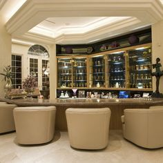50 Stunning Home Bar Designs | February, Bar and 50th