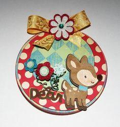 So deer Circle Card - 1