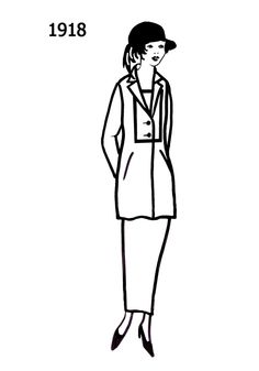 104 best dress sketches images 1920s dress sketches Great Gatsby Clothing 1920s 1918 1918 fashion fashion history women s fashion slim suit dress sketches
