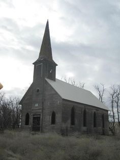 Old Church in Oregon- gives me so many story ideas. :)