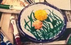 Fun with straw flowers.