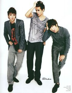 MBLAQ Thunder, Mir and G.O - Marie Claire Magazine April Issue '12