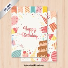 birthday banners with bunting free vector free stuff pinterest