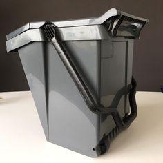 Contenedor de residuos Easy Trolley, con ruedas para un traslado sencillo. Easy, Canning, Waste Container, Recycling Bins, Simple, Wheels, Tin Cans, Innovative Products, Home Canning