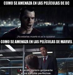 Top memes de dc vs marvel en español