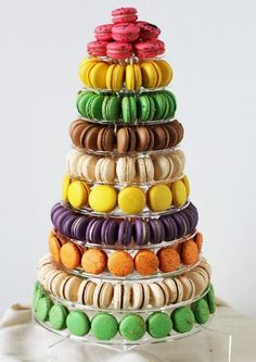 $550 Consists of approximately 165 macarons.