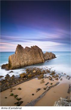 Photo by Joserra Irusta. Arnia. #Cantabria #Spain #Coast #Travel