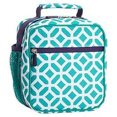 Gear-Up Ceramic Pool Peyton Classic Lunch With Mesh Side Pocket Girls Lunch Boxes, Cool Lunch Boxes, Bags For Teens, Kids Bags, School Lunch Box, School Bags, School Stuff, Cute Backpacks, School Backpacks